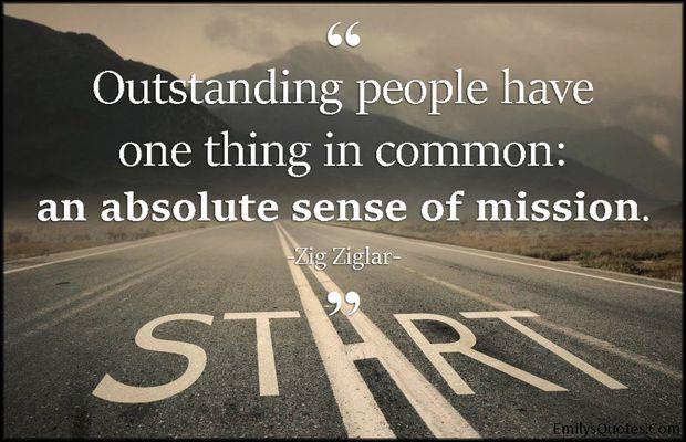 Sense of Mission