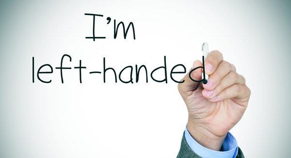 I'm left-handed