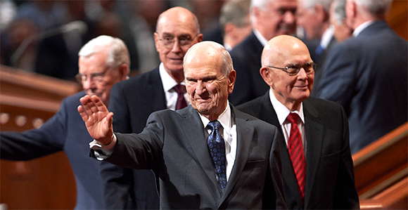 First Presidency at Conference